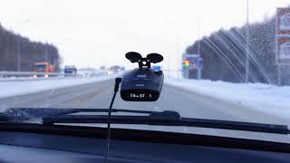 видео «Все по-русски» – обзор радар-детектора iBOX PRO 800 GPS