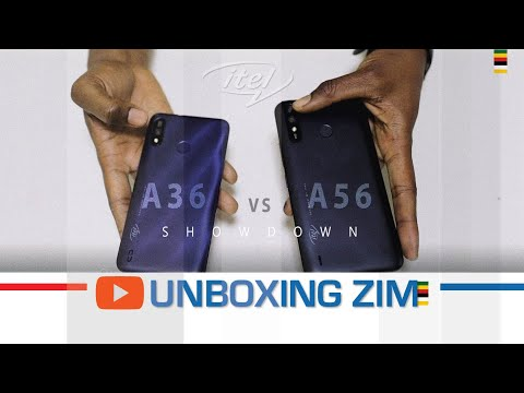 Unboxing Zim - ITEL A36 VS A56 Review