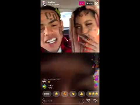6ix9ine Taunts Trippie Redd x Juice Wrld On Live WIth AYLEK$