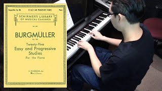 Burgmüller: The Little Party, Op. 100 No. 4 | Tat the Musician