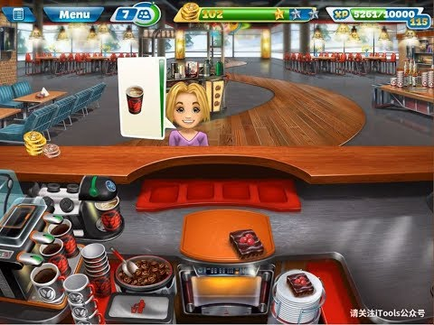 Cooking Fever-Michelle's Cafe-Unlock Level 3 (to be continued...)