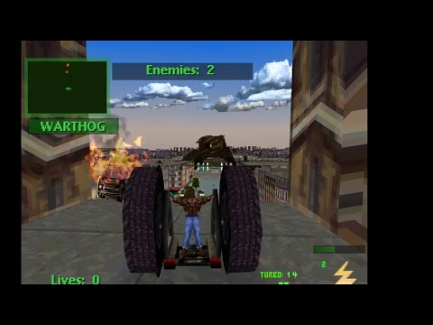 Trở về tuổi thơ PS1| Đua xe bắn súng [Twisted Metal 2]