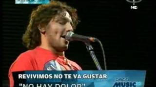 No te va Gustar - No hay dolor (Pepsi Music 2009)