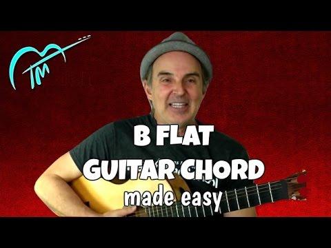 How To Play The B flat Chord On Guitar - Breaking-through Beginning Guitar Series