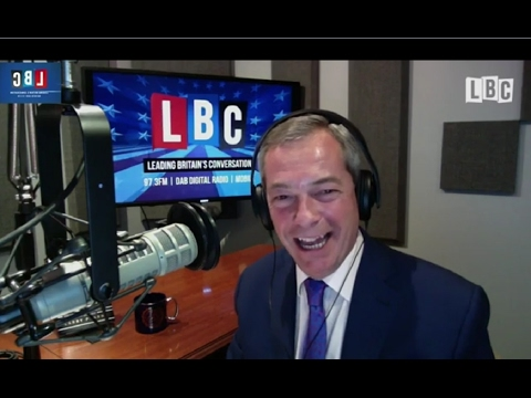 NEW - The Nigel Farage Show from Michigan USA - Donald Trump's State Visit To The UK - 20-02-2017