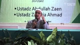 [Sesi 1] #Part2 Bagaimana Mencapai Hati yang Qanaah - Ustadz Zakaria Ahmad