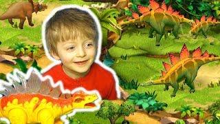 Игра ЧУДО ЗООПАРК Спаси Животных Динозавры для Детей Мультик про Динозавров Lion boy