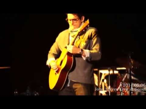 John Mayer Live In Seoul - Your Body Is A Wonderland , Neon