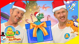 What's in the Box Sing-a-Long | Christmas Songs | Kids Music | The Mik Maks