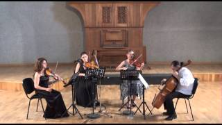 "Nubar Aslanyan- String Quartet N.3 ""Armenia 1988-1993"" dedicaded. to Edward Mirzoyan"
