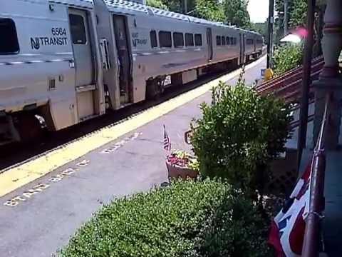 Oradell N J train  6-3-12