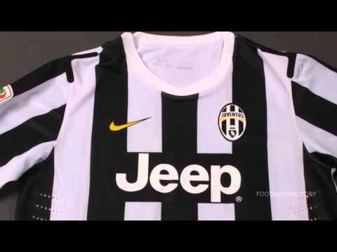 7f0560da9 Juventus Home Kit 2013   2014 - YouTube