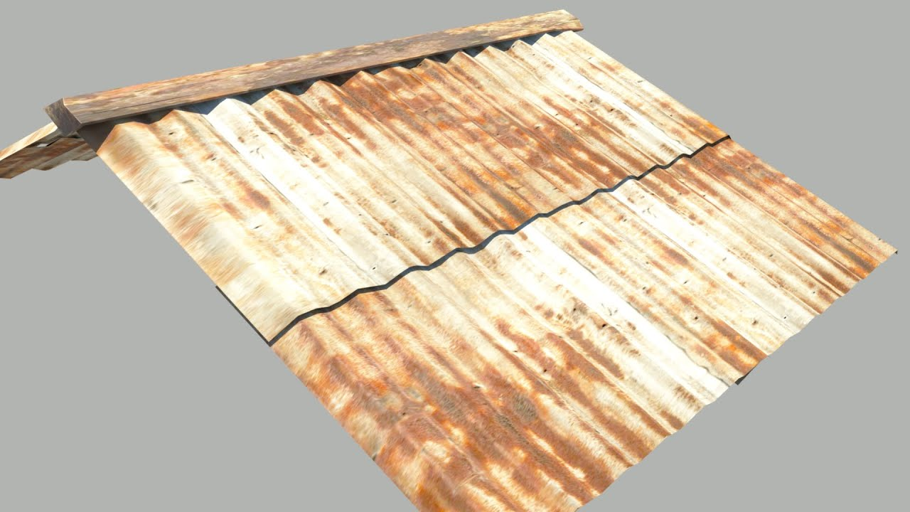 Maya Tutorial:How To Model A Tin Roof   YouTube