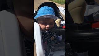 Falling Asleep at the Wheel Has Never Looked so Cute    ViralHog thumbnail