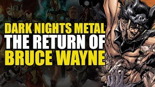 Dark Nights Metal: Rise of The Bat Tribe (The Return of Bruce Wayne #1)