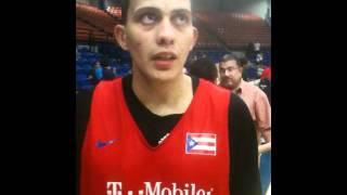 Alex Galindo, Puerto Rico Basketball Team Practice (7/25/11), Boricuas Ballers