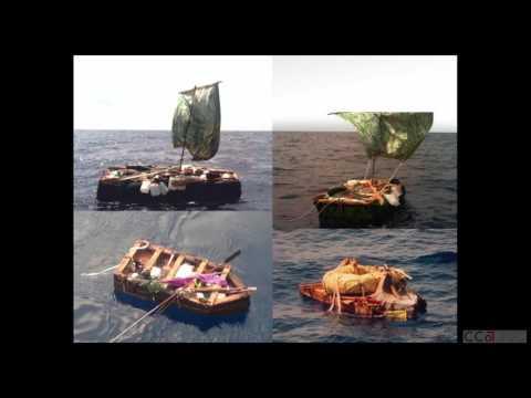 Natalie Catasús   Echoes Off the Straits: Image and Ephemera of the Cuban Balseros