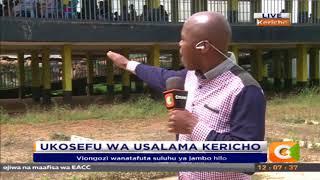 Viongozi wa Kericho wanatafuta suluhu ya usalama #CitizenExtra