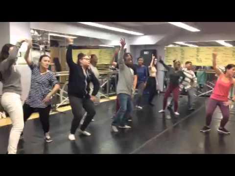 Lower Manhattan Arts Academy (LOMA) 9th Grade Dance Class