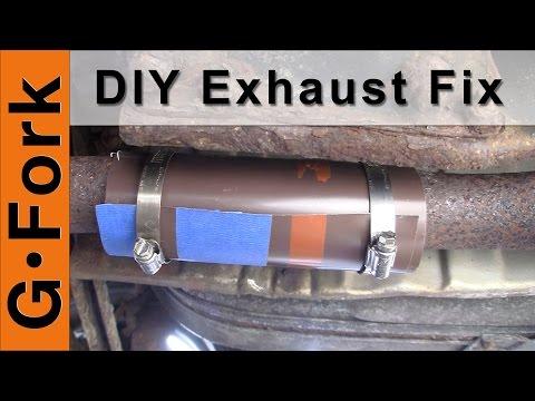 DIY Exhaust Pipe Repair - GardenFork