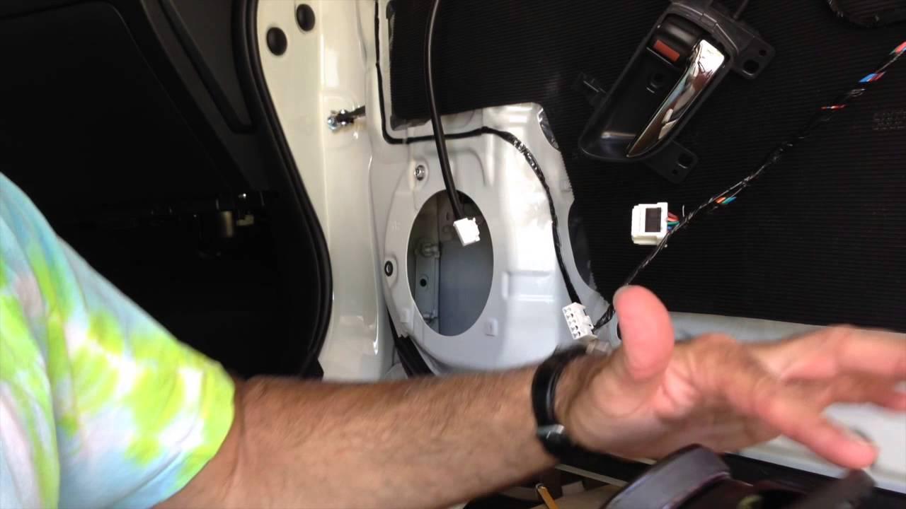 2015 2016 Subaru Wrx Door Speakers Upgrade Howto Youtube Crutchfield Wiring Harness Brz