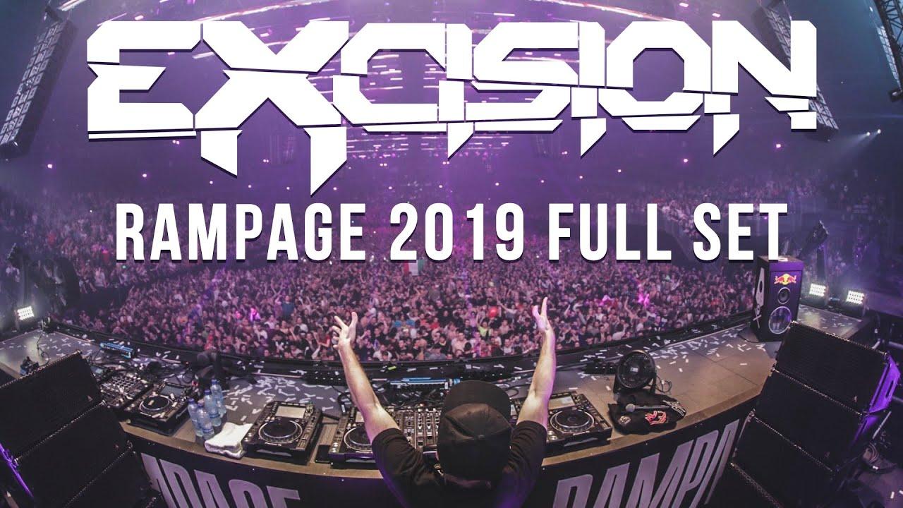 Download Excision RAMPAGE 2019 Full Set