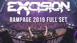 Excision RAMPAGE 2019 Full Set