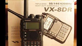 обзор рации Yaesu VX 8DR