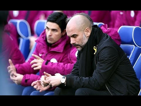 WHY DOES PEP GUARDIOLA WEAR THE YELLOW RIBBON
