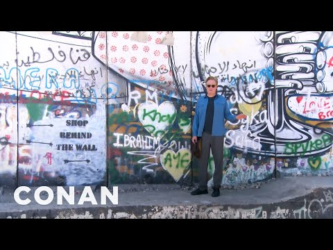 A Sneak Peek At Conan's Visit To The West Bank  - CONAN on TBS
