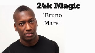 Bruno Mars 24k Magic Synth Bass Cover