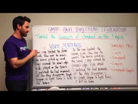 GMAT Tuesday: AWA Directions and What They Mean