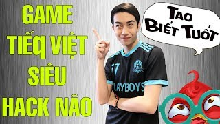 CrisDevilGamer chơi Game Tiếq Việt siêu hack não   TAO BIẾT TUỐT