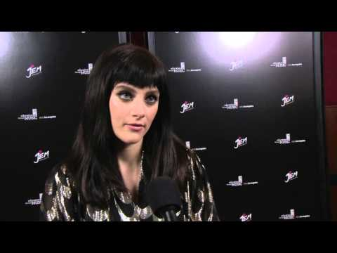 "Jem and the Holograms: Aubrey Peeples ""Jerrica / Jem"" Special Movie Premiere Interview"