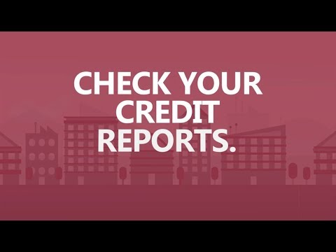 Save Big in 30 seconds a day: Check your credit reports.