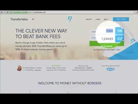 Tutorial : come utilizzare TransferWise ? Italiano