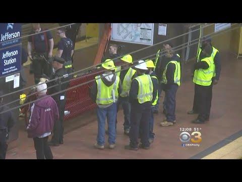 Police: Man's Charred Body Found Atop SEPTA Train
