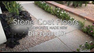 Stone Coat Floors Instructional Video