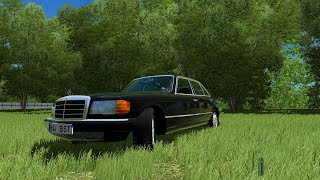 City Car Driving | Mercedes - Benz 560 SEL W126 | Regular driving | 60 FPS | 1080p