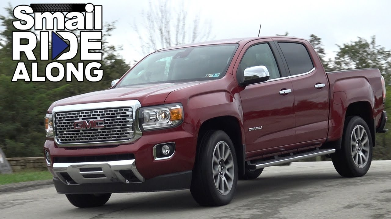 2019 GMC Canyon Denali - Review and Test Drive - Smail Ride Along - YouTube
