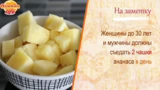 Какой фрукт сжигает жир? Ананас - польза для мужчин и женщин