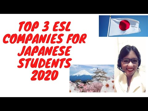 Top 3 ESL COMPANIES WITH JAPANESE STUDENTS 2020