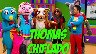 THOMAS EL GATO ES UN CHIFLADO/ KIDS PLAY / VIDEOS INFANTILES /