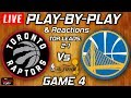 Raptors vs Warriors Game 4 | Live Play-By-Play & Reactions