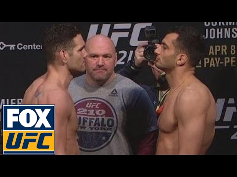 Chris Weidman vs. Gegard Mousasi | Weigh-In | UFC 210