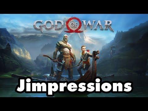 God Of War  Chill Dad Kratos & The Boy Jimpressions