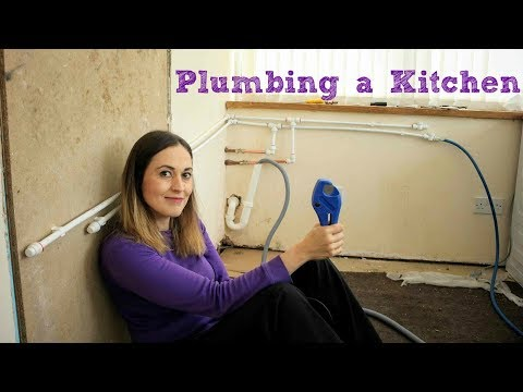 Utility Kitchen Part 2: Fitting Plumbing | The Carpenter's Daughter