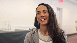 'I WAS GETTING PAID $1000 A FIGHT, PRACTICALLY NOTHING, EVEN FOR WORLD TITLES' - AMANDA SERRANO