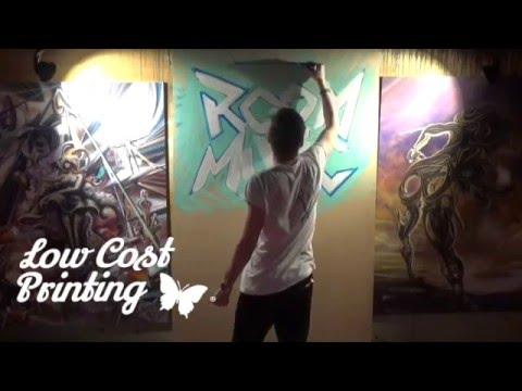 Art Print ROOM MUSIC & Low Cost Printing Leganés  Dj Gerard Compe
