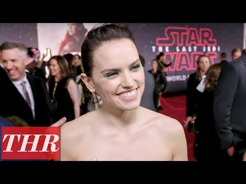 Daisy Ridley on The Importance of Her Character 'Rey' in 'Star Wars: The Last Jedi' | THR